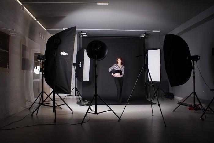 портретная фото семка в павильене видео уроки