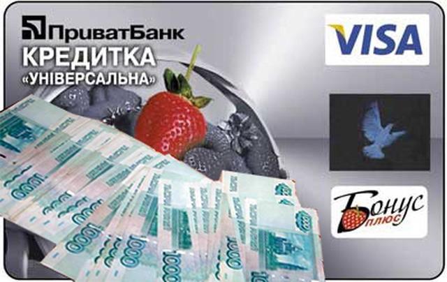 Кредит в Приватбанке наличными (калькулятор 50000 грн от.