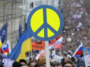 Марш мира прошел в  мирных условиях