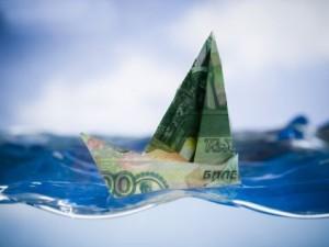 Рубль отправляется в свободное плавание