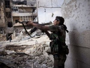 Fighting in Aleppo