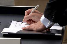 Заключение договора банковского вклада