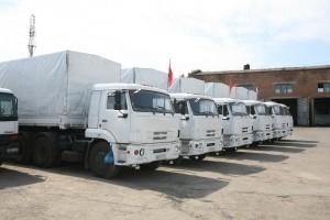 Очередной гумконвой прибыл на Донбасс