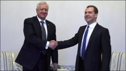 Разговор премьер-министров РБ и РФ