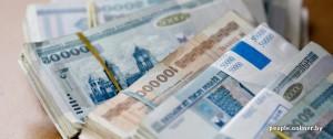 Белорусский рубль подешевел на 7%
