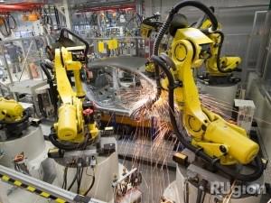 Завод Volkswagen вернулся к работе после зимних каникул