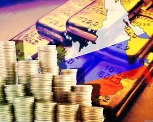 Золотовалютные резервы России сокращаются