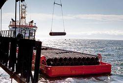 Трубоукладочное судно Saipem вошло в Черное море