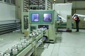 Мини завод по выпуску туалетной бумаги