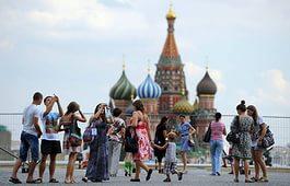 Девальвация рубля положительно сказалась на иностранном туризме