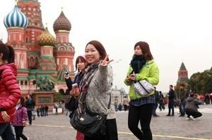 В России наблюдается увеличение туристического потока