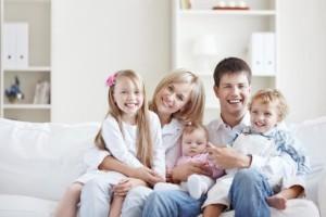 Многодетные семьи получат дополнительную помощь в размере 820 млн руб.