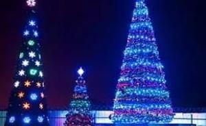 Расходы на новогодние елки для столицы