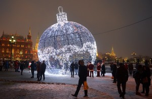 Использование шара-гиганта в Москве