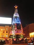 Триумфальная ель для Москвы