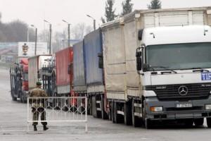 Отношения России и Украины по транзиту грузовиков