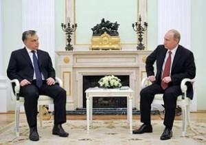 Встреча Путина с Виктором Орбаном