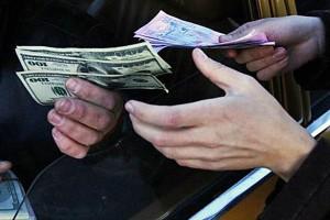 Процветание «черного рынка» валют в Украине
