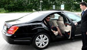 Личный водитель бизнес-леди