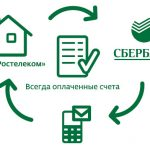 Как оплатить услуги Ростелекома с помощью банковской карты Сбербанка