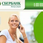 Какую информацию можно узнать по горячей линии Сбербанка России по телефону