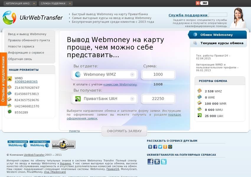пульс человека: обменник приват на вебмани просто взять