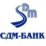 Пластиковая карта СДМ банка