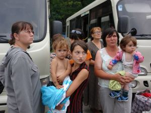 Украинские беженцы получат помощь из российского бюджета
