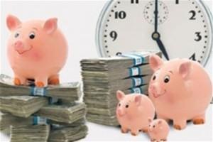 Краткосрочные банковские вклады на месяц и более