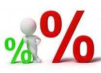 Большие процентные ставки в Москве