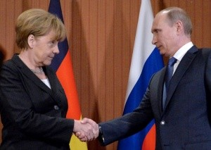 Путин и Меркель втретятся 10 мая в Кремле