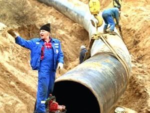 Строительство газопровода в Крым продвигается по плану