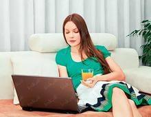 Фриланс – выгодная работа для женщины
