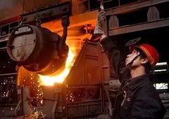В Китае зафиксировано сокращение объемов производства стали