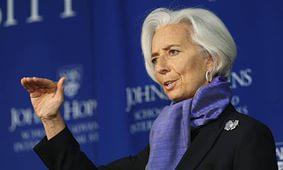 Лагард ожидает начала реформы квот и управления МВФ