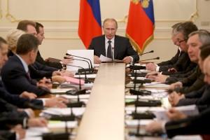 Путин провел совещание с правительством
