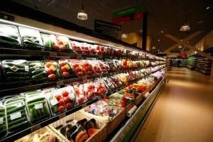 Торговый зал супермаркета Green