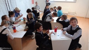 Открытие творческой студии для детей
