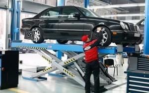 Оказание услуг для автомобилей в гараже