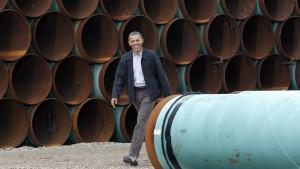 История со строительством нефтепровода Keystone XL