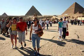 Возвращение российских отдыхающих из Египта на Родину
