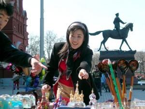 Китайские туристы любят путешествовать в Россию
