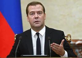 Медведев намерен организовать розничные онлайн-продажи российских товаров за границу