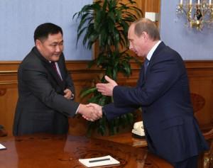 Шолбан Кара-оол сообщил Путину о ситуации в Республике Тува