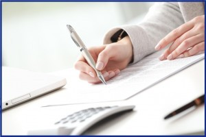 Особенности заполнения заявления в налоговую инспекцию