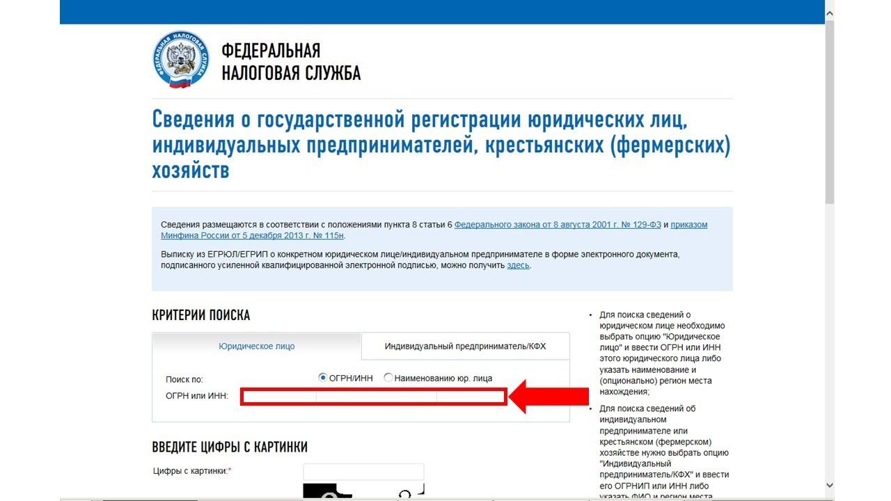 поиск по инн юридического лица на сайте налоговой займы с плохой кредитной историей vsemikrozaymy.ru