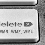 Как удалить Вебмани кошелек навсегда